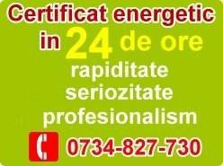 Certificat energetic in 24 de ore